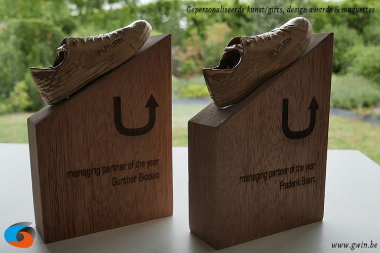 design award - gepersonaliseerde award - 3d-trofee - 3D-award